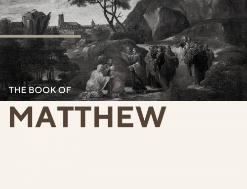 Matthew 30 Day Reading Guide