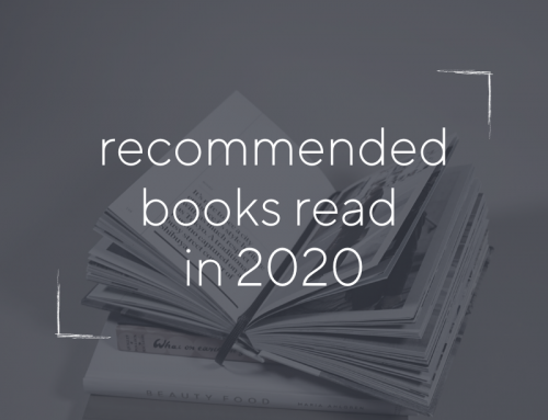 Recommended Books Read in 2020